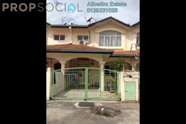 For Sale Terrace at Taman Subang Murni, Subang Leasehold Semi Furnished 4R/3B 510k