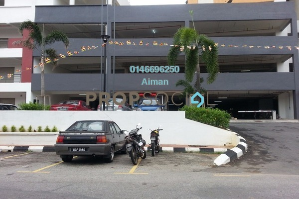 For Sale Apartment at Palm Garden Apartment, Klang Leasehold Unfurnished 3R/2B 220k