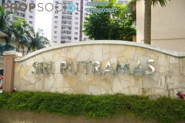 For Rent Condominium at Sri Putramas I, Dutamas Freehold Semi Furnished 3R/2B 1.55k
