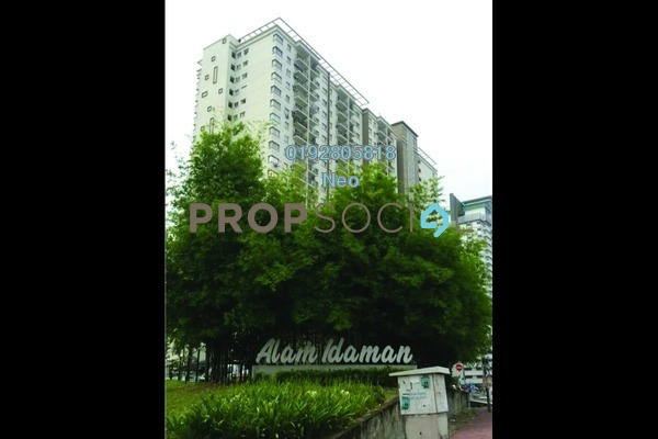 For Sale Serviced Residence at Alam Idaman, Shah Alam Freehold Semi Furnished 3R/2B 400k