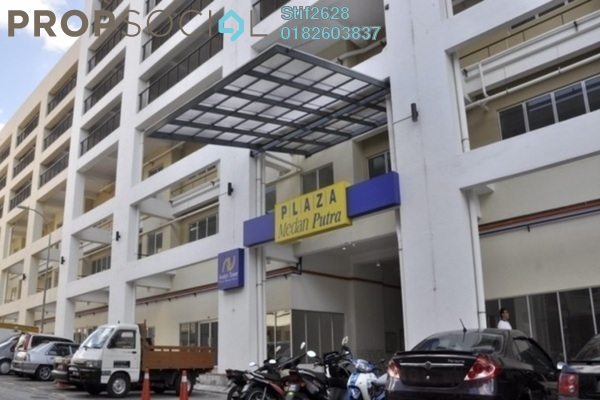For Rent Condominium at Plaza Medan Putra, Bandar Menjalara Freehold Semi Furnished 3R/2B 1.3k