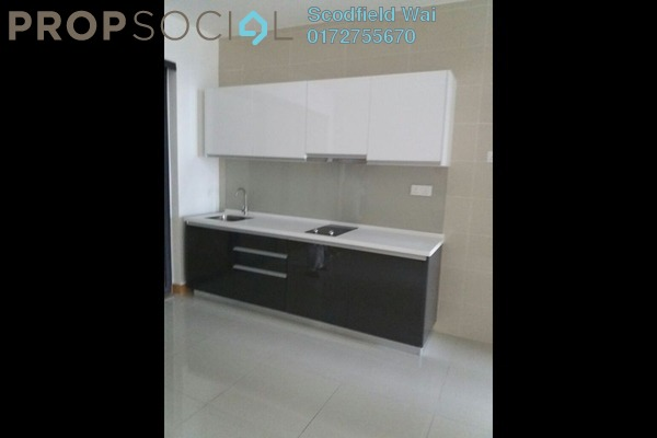 For Sale Serviced Residence at KL Gateway, Bangsar South Leasehold Semi Furnished 1R/1B 755k