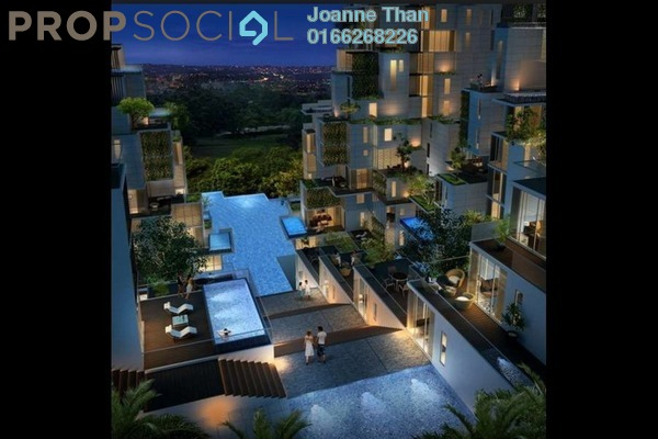 For Rent Condominium at Icon Residence, Dutamas Freehold Fully Furnished 2R/2B 4.8k