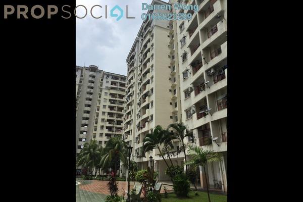 For Sale Apartment at Pandan Court, Pandan Indah Leasehold Semi Furnished 3R/2B 338k