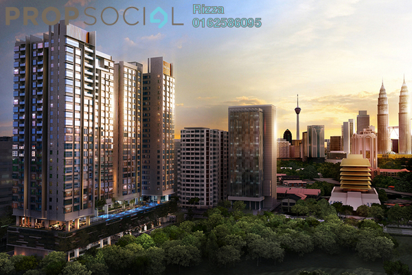 For Sale Serviced Residence at The Horizon Residences, KLCC Freehold Fully Furnished 3R/3B 2m