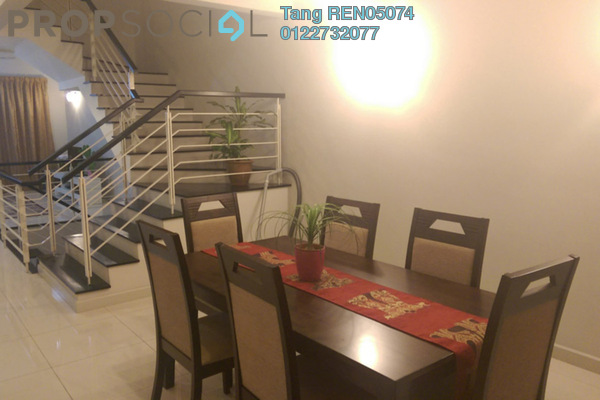 For Sale Terrace at Zenia, Desa ParkCity Freehold Semi Furnished 4R/4B 2.25m