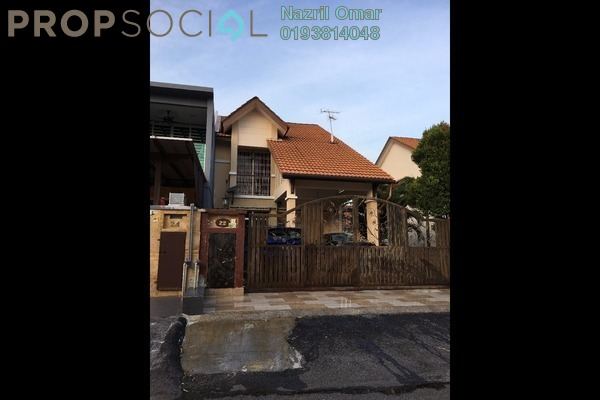 For Sale Terrace at Bandar Puncak Alam, Kuala Selangor Leasehold Semi Furnished 4R/3B 499k
