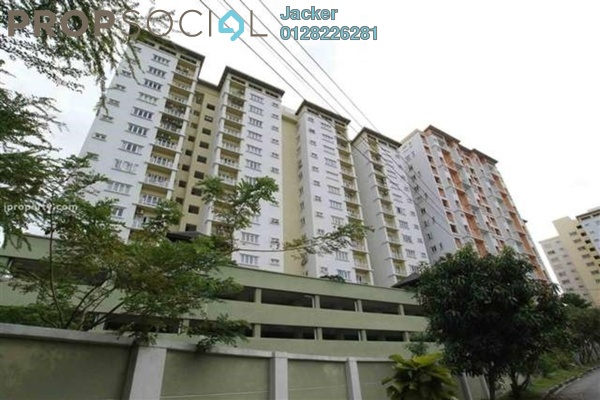 For Rent Condominium at Casa Desa, Taman Desa Freehold Semi Furnished 2R/2B 1.6k