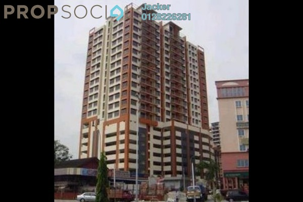 For Rent Condominium at Diamond Residences, Setapak Freehold Unfurnished 3R/2B 1.6k