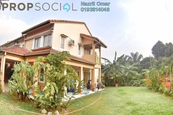 For Sale Terrace at Taman Pinggiran USJ, Subang Jaya Freehold Semi Furnished 4R/3B 1.2m
