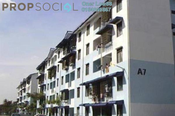 For Sale Apartment at Taman Seri Janggus, Bukit Mertajam Freehold Unfurnished 2R/2B 120k