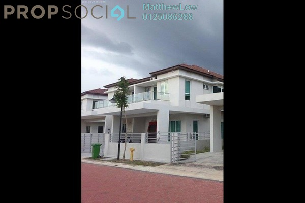 For Rent Terrace at Pearl Garden, Bukit Tambun Freehold Unfurnished 5R/3B 1.2k