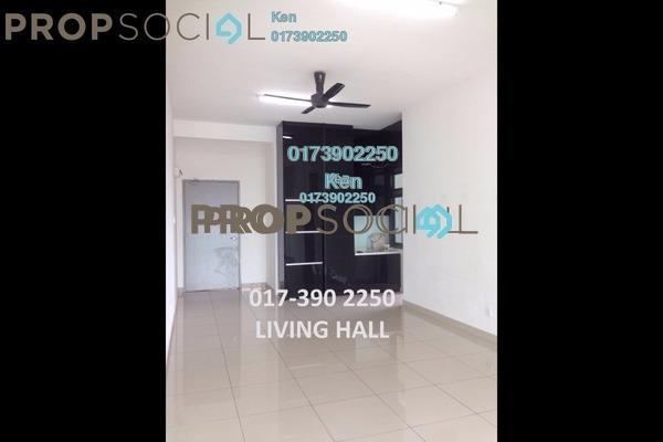 For Sale Condominium at USJ One Park, UEP Subang Jaya Leasehold Semi Furnished 4R/3B 580k
