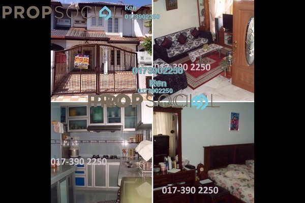 For Rent Terrace at USJ 6, UEP Subang Jaya Freehold Fully Furnished 3R/3B 1.5k