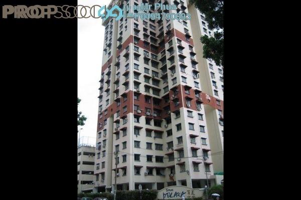 For Rent Apartment at Taman Pekaka, Sungai Dua Freehold Fully Furnished 3R/2B 1.2k