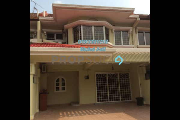 For Sale Terrace at BU3, Bandar Utama Freehold Semi Furnished 4R/3B 1.18m