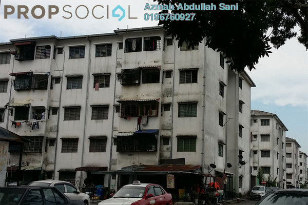 For Sale Apartment at Bandar Teknologi Kajang, Semenyih Freehold Unfurnished 2R/1B 73k