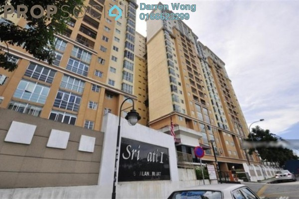For Sale Apartment at Sri Jati I, Old Klang Road Freehold Semi Furnished 3R/2B 339k