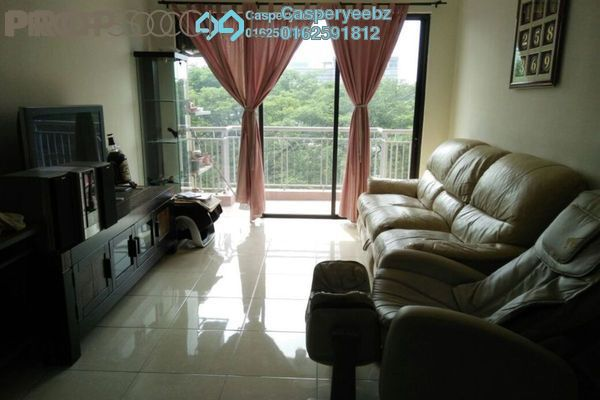 For Sale Condominium at Casa Indah 1, Tropicana Leasehold Fully Furnished 3R/3B 790k