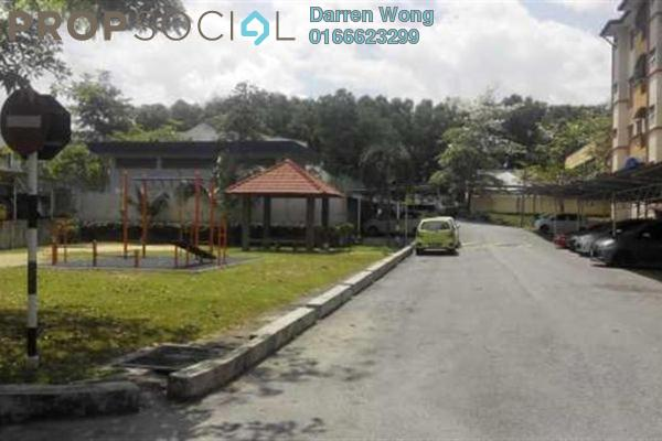 For Sale Apartment at Taman Cheras Intan, Batu 9 Cheras Freehold Semi Furnished 3R/2B 285k