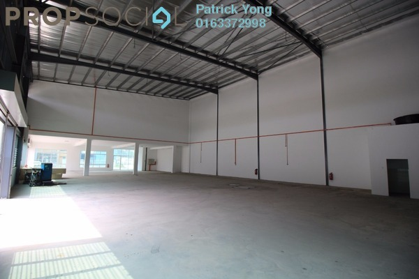 For Rent Factory at Taman Meranti Jaya Industrial Park, Puchong Freehold Unfurnished 0R/6B 22k