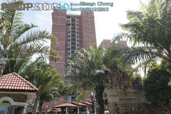 For Sale Condominium at Greenview Residence, Bandar Sungai Long Freehold Fully Furnished 3R/2B 520k