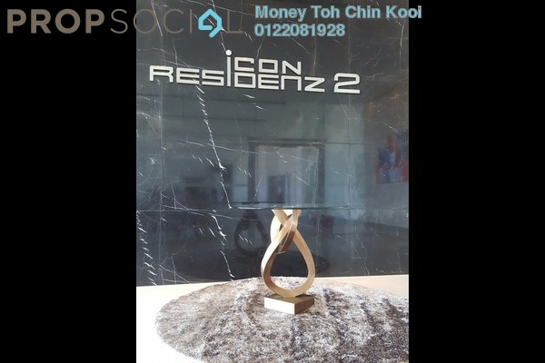 For Sale Serviced Residence at Icon Residenz, Petaling Jaya Leasehold Unfurnished 2R/2B 750k