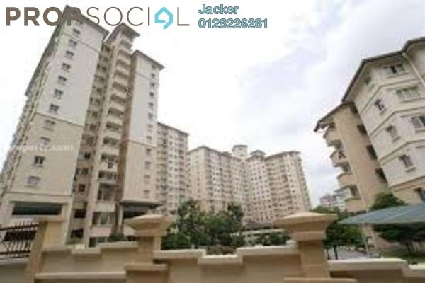 For Rent Condominium at Oakleaf Park, Bukit Antarabangsa Freehold Semi Furnished 3R/2B 1.5k