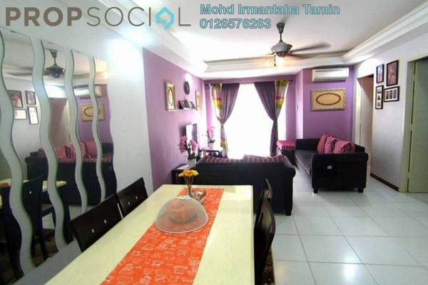 For Sale Apartment at Lakeview Apartment, Batu Caves Leasehold Semi Furnished 3R/2B 295k
