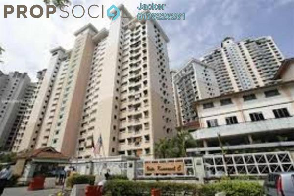For Rent Condominium at Vista Komanwel, Bukit Jalil Freehold Semi Furnished 3R/2B 1.6k