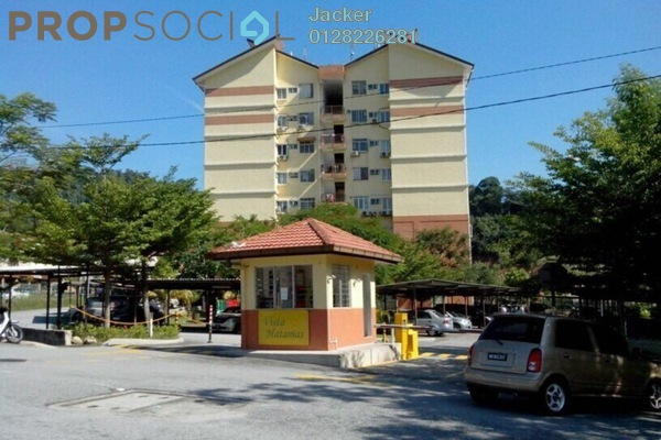 For Rent Condominium at Vista Hatamas, Cheras Freehold Semi Furnished 3R/2B 1k