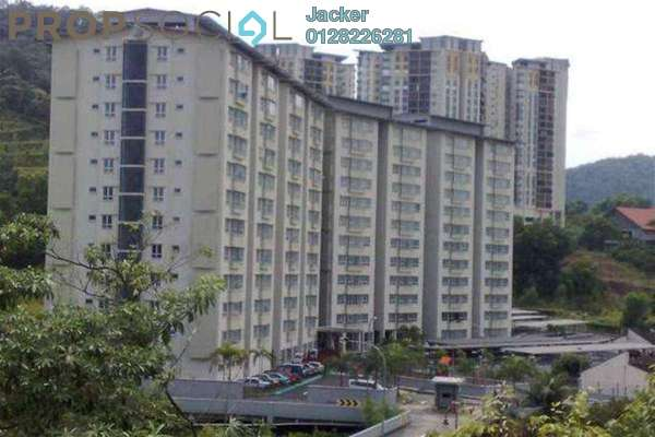 For Rent Condominium at Alpha Villa, Wangsa Maju Leasehold Semi Furnished 3R/2B 1.6k
