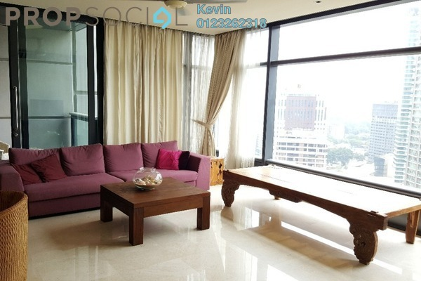 For Rent Condominium at The Troika, KLCC Freehold Semi Furnished 5R/4B 11k