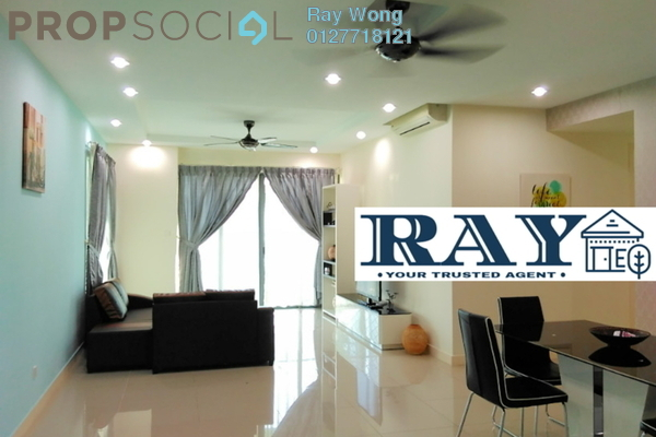 For Rent Condominium at A'Marine, Bandar Sunway Leasehold Fully Furnished 3R/2B 3.5k