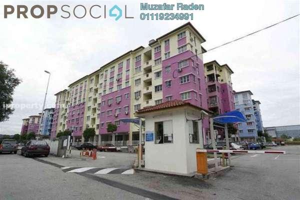 For Sale Apartment at Salvia Apartment, Kota Damansara Leasehold Unfurnished 3R/2B 319k