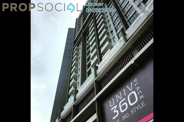 For Rent Condominium at Univ 360 Place, Seri Kembangan Leasehold Semi Furnished 3R/2B 1.6k