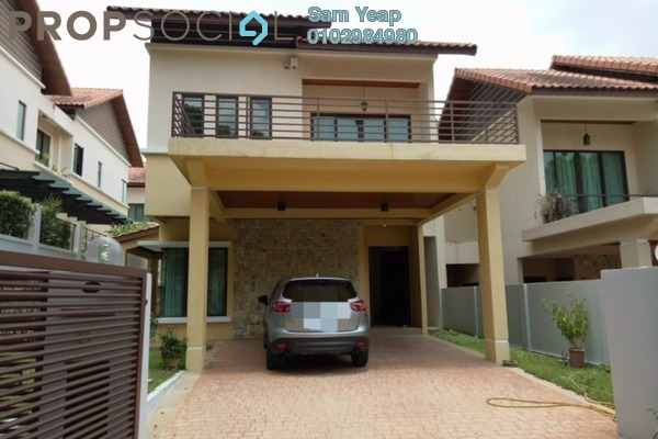 For Rent Semi-Detached at Kiara View, Mont Kiara Freehold Semi Furnished 5R/6B 7.5k