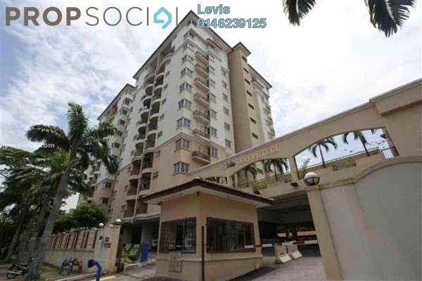 For Rent Condominium at Villa Seri Puteri, Cheras Leasehold Fully Furnished 3R/2B 2k