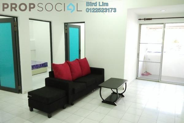 For Rent Apartment at Sri Cempaka Apartment, Bandar Puchong Jaya Freehold Semi Furnished 3R/2B 1.12k