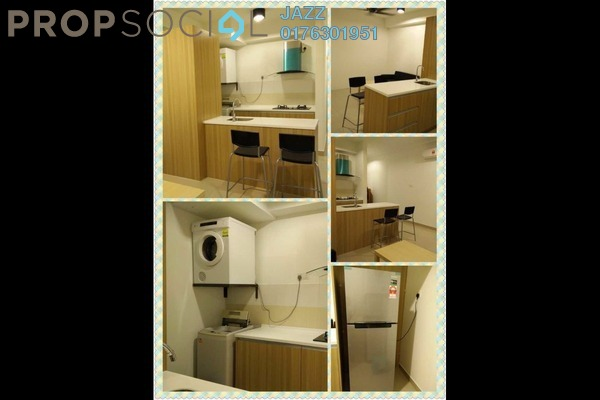 For Rent Serviced Residence at Pacific Place, Ara Damansara Leasehold Semi Furnished 2R/2B 1.5k