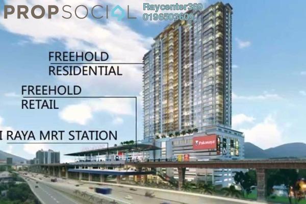 For Sale Condominium at Taman Cheras Permai, Batu 9 Cheras Freehold Unfurnished 3R/2B 700k
