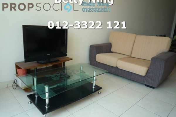 For Rent Condominium at Casa Tiara, Subang Jaya Freehold Fully Furnished 3R/2B 2.4k
