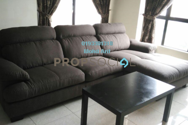 For Rent Condominium at Casa Tropicana, Tropicana Leasehold Fully Furnished 4R/2B 2.9k