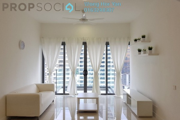 For Rent Condominium at Reflection Residences, Mutiara Damansara Freehold Fully Furnished 3R/2B 2.8k