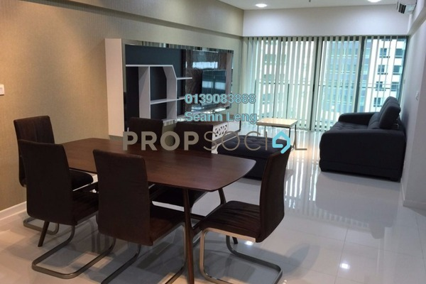 For Rent Condominium at Summer Suites, KLCC Leasehold Fully Furnished 1R/1B 3.2k