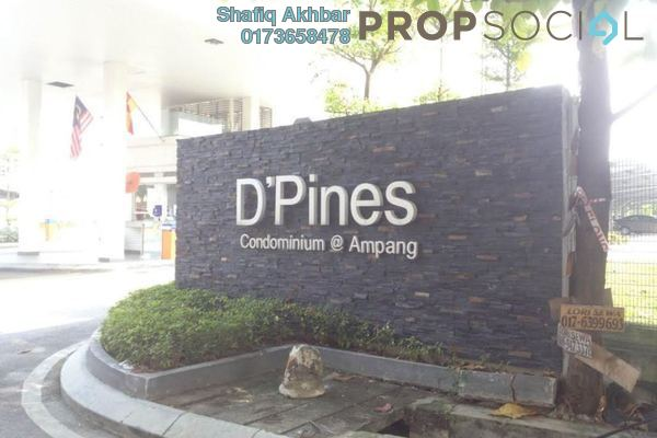 For Sale Condominium at D'Pines, Pandan Indah Leasehold Semi Furnished 4R/3B 690k