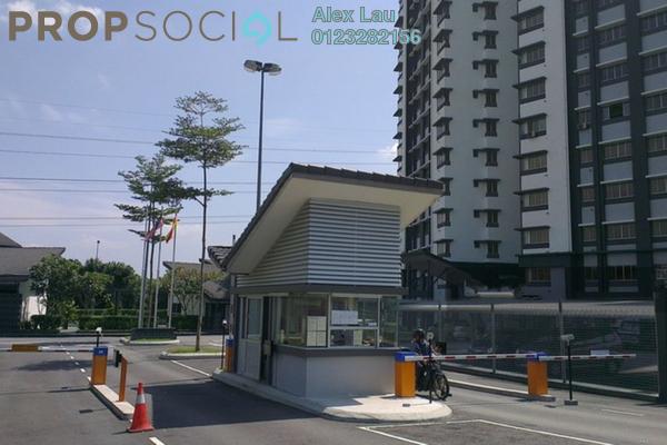 For Rent Condominium at Lagoon Residences, Kota Kemuning Freehold Fully Furnished 2R/2B 1.6k