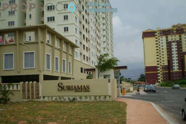 For Sale Condominium at SuriaMas, Bandar Sunway Leasehold Fully Furnished 4R/2B 520k