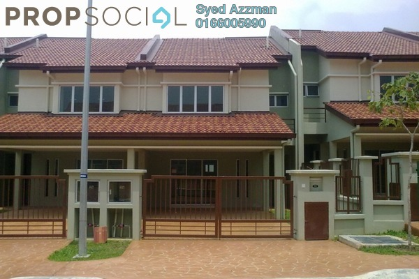 For Rent Terrace at Cahaya Alam, Shah Alam Leasehold Unfurnished 4R/3B 1.6k
