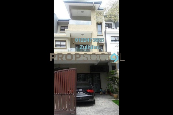 For Sale Terrace at The Peak, Cheras South Freehold Semi Furnished 6R/5B 1.55m